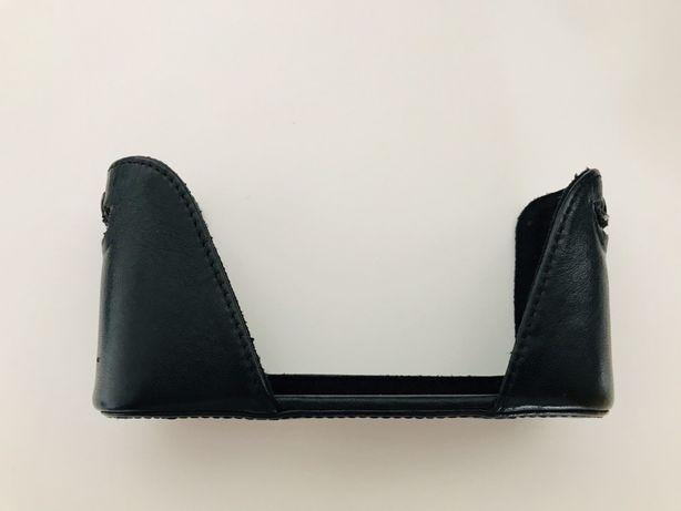Leica M8 M9 ME M Monochrom leather half case - genuína #35685 LEICA
