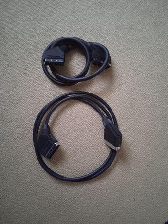 Kabel Scart 2 szt , kabel HDMI 1 szt