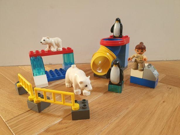 Lego DUPLO 5633 polar zoo, niedźwiedź, pingwin, klocki