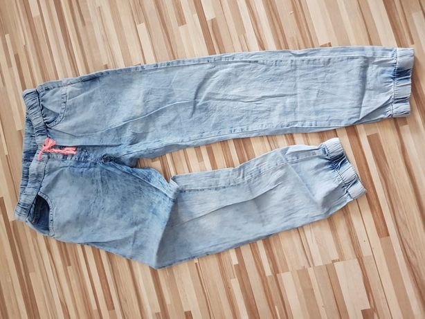Spodnie COOL CLUB joggery jeans r.140 - super cena i stan