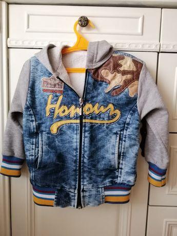Детская джинсовая демисезонная куртка.