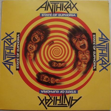 Anthrax – State Of Euphoria, Vinyl