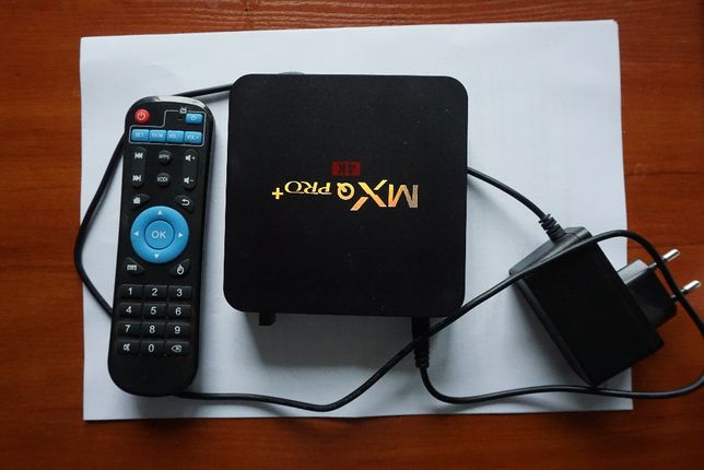 Smart TV Box Android MXQ Pro + 4K