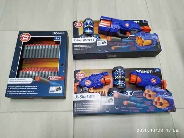 Pistolet pistolety strzałki playtive