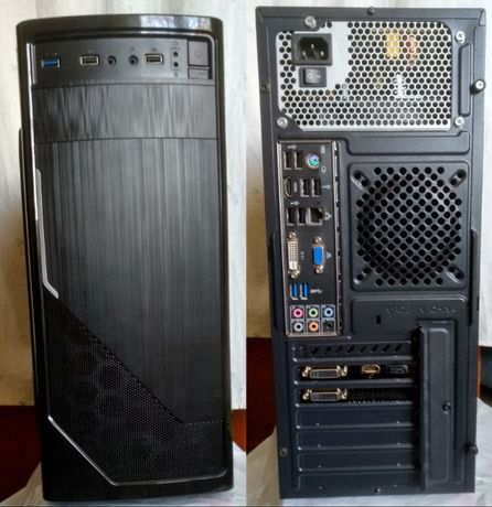 Компьютер i7 4790 8GB 240GB GeForce GTX950 2GB 450W FSP игровой