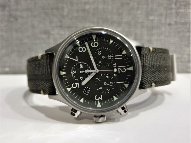 Мужские часы Timex MK1 Chrono Tx2r68600 Оригинал