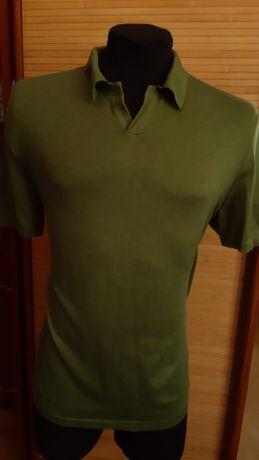 мужская футболка BANANA REPUBLIC 54%silk+39%cotton+7%cashmere