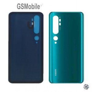 Tampa traseira para Xiaomi Mi Note 10, 10 Pro Verde Preto Branco
