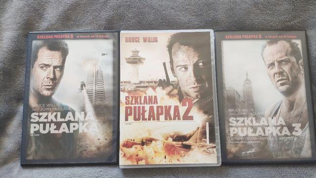Trylogia Szklana Pułapka DVD