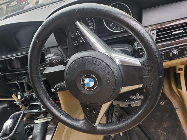 Руль БМВ Е60 Е61 Е63. Руль с подушкой BMW