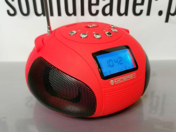 Mini boombox głośnik bluetooth zegar radio odtwarzacz mp3