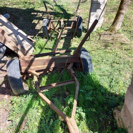Wóz  żelazny do ciagnika