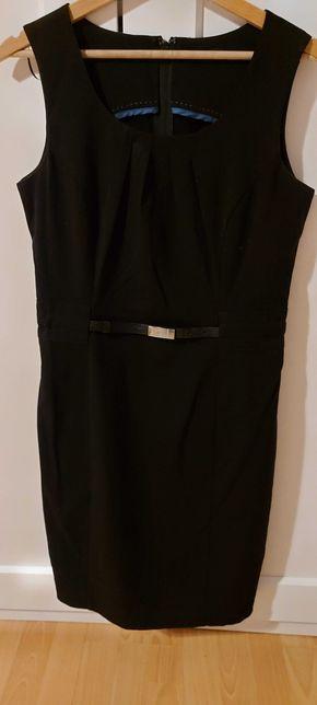 Ołówkowa sukienka Orsay, czarna, rozmiar 38