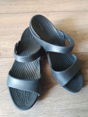 Кроксы Crocs w7 крокси босоножки