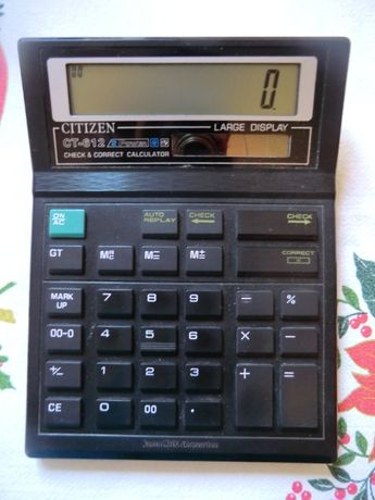 Калькулятор большой Citizen CT - 612