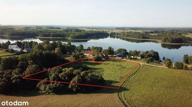 Działka rolna 10000 m2 nad Jeziorem Krzywe, Krzywe