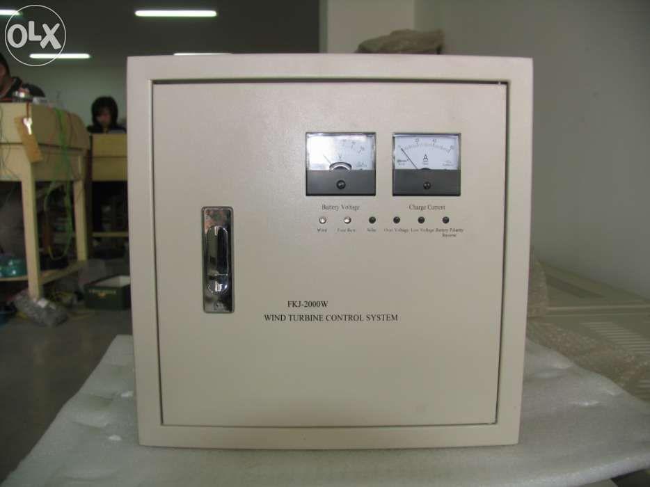 Controlador para aerogerador 1000w a 4000w 24v Fernão Ferro - imagem 1