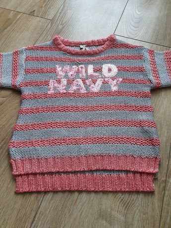 Sweterek 110cm cekiny