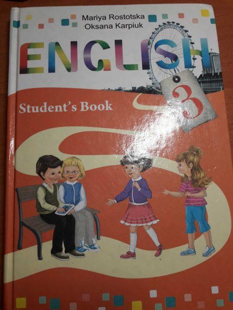 Учебник Английского языка ,ЕNGLISH ,3 класс