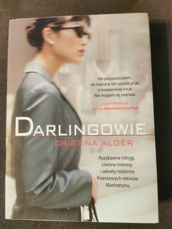 Darlingowie Cristina Alger książka 2013 miękka oprawa