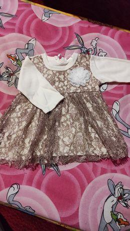 Платье нарядное от 0 месяц