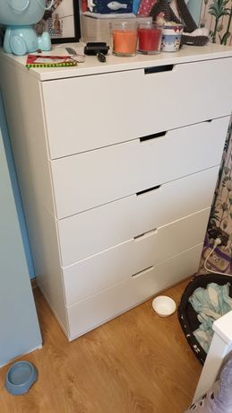 Komoda Nordli Ikea biała