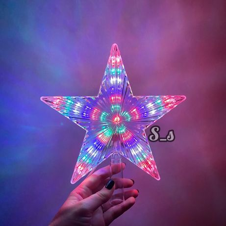 Верхушка для ёлки Звезда