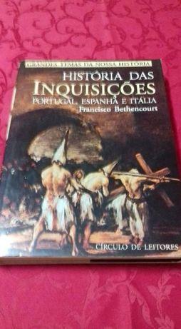 História das Inquisições (Portugal, Espanha, Itália), de F. Bethencour