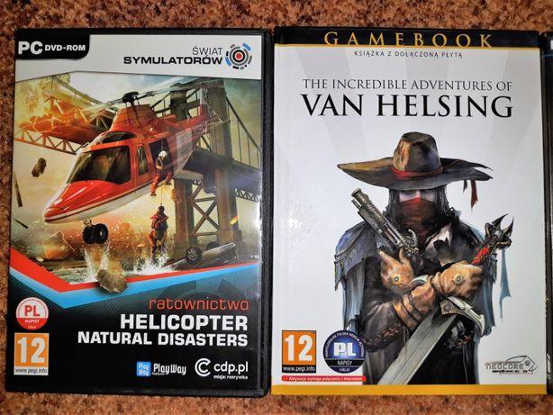 Komplet czterech gier na PC