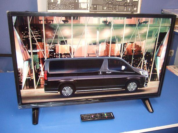 HIT Nowy TV Led 32 Hanseatic DVB-T2/SAT A+ MPEG4 2xHDMI OKAZJA!