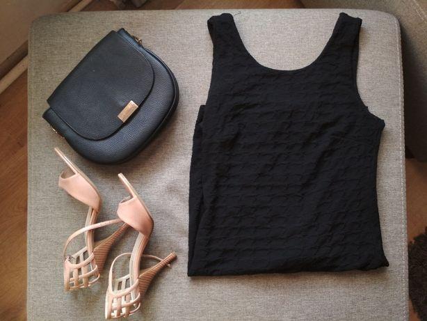 Czarna sukienka Mohito rozm. M