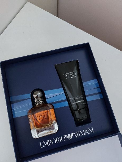 Emporio Armani - Stronger With You, zestaw