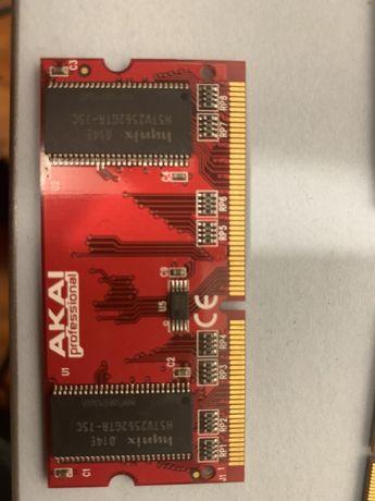 Akai mpc 1000 mpc 500 mpc 2500 Memoria ram original AKAI maxima 128mb