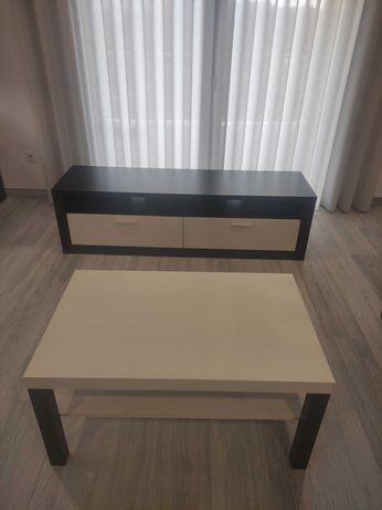 Móvel TV + mesa de centro