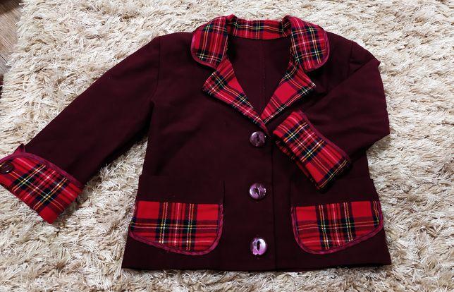 Школьная форма для первоклассницы из 6 вещей. И блузка в подарок!