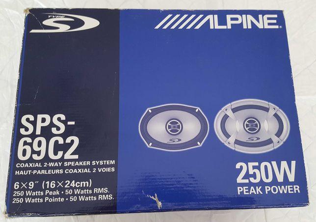 Colunas AUTO novas  Alpine SPS-69C2
