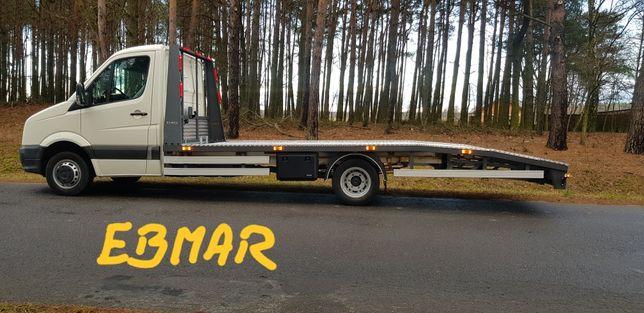 Autolaweta Zabudowa Najazd VW Crafter Ebmar