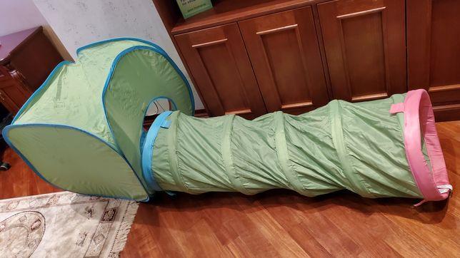 Детский тунель домик труба ikea
