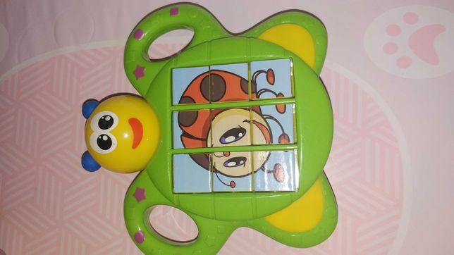 Motylek puzzle układanka Dumel Discovery