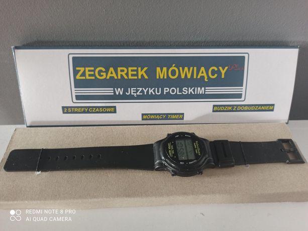 Zegarek mówiący po polsku