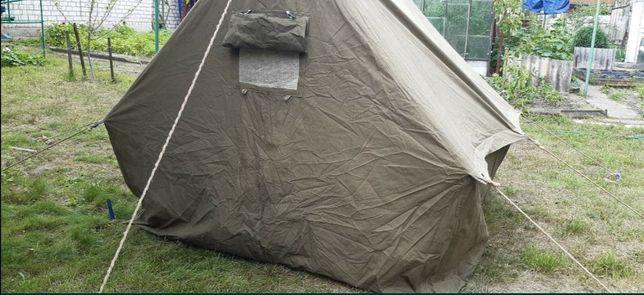 Палатка СССР брезентовая 4х местная новая