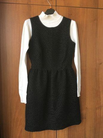 Платье (почти школьное) для девочки 13/14 лет+презент