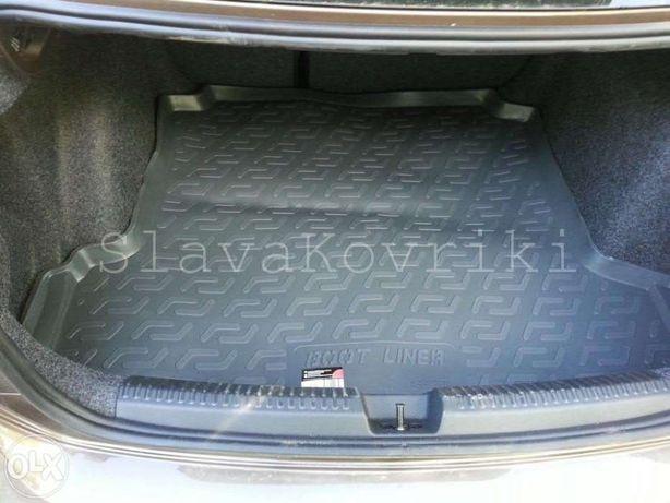 Ковёр в багажник Volkswagen Polo sedan 2010-20;хэчбек 02-17,поло седан