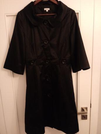 płaszcz wiosenny SOLAR, czarny, rozmiar 40