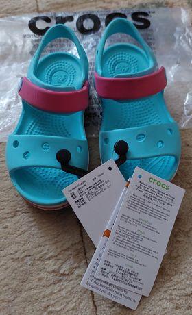Босоножки сандалии  Crocs оригинал для девочки