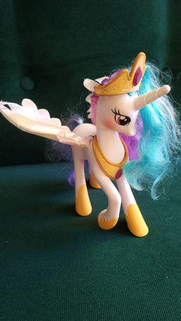 My little pony duza ksiezniczka Celestia mowi swieci
