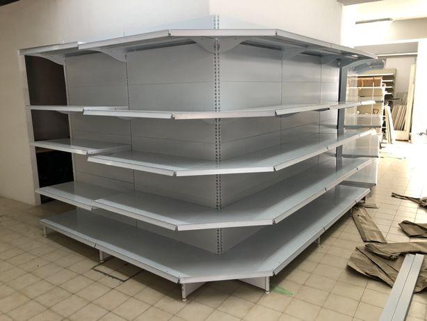 Estantes novas de supermercados