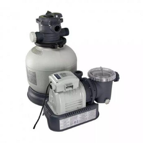 Песочный фильтр насос для бассейна Intex 6000 л/ч (Интекс)