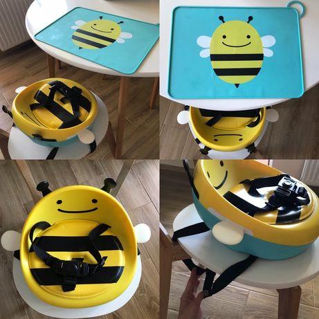 Бустер и силиконовая подставка Пчелка Skip Hop