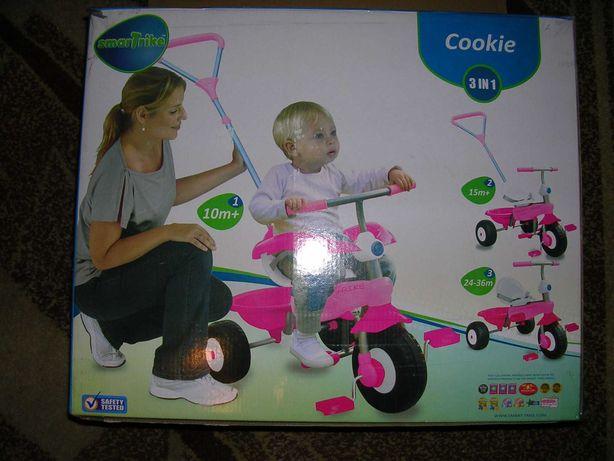 Велосипед 3-колесный Smart Trike Cookie 3 в1 (10-36 мес.) б/у КАЧЕСТВО